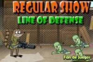 Juego Regular show line of defense Gratis