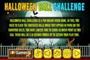 Ball Challenge: Halloween