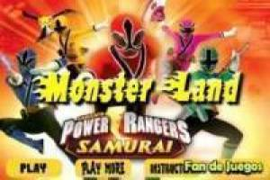 Power Ranger vs monstros