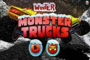 Winter Monster Trucks
