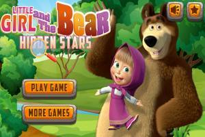 Masha and the Bear: Find the Stars