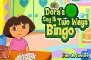 Dora the Explorer, play bingo