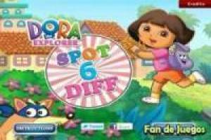 Dora the Explorer: Look for differences