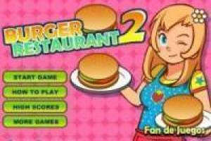Free Burger restaurant Game