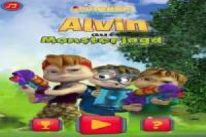 Alvin and the squirrels: catch the monster