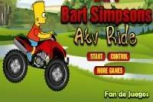 Bart simpson motorcycle quads
