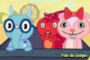 Gratis Happy Tree Friends - boo denk je dat je bent Spelen