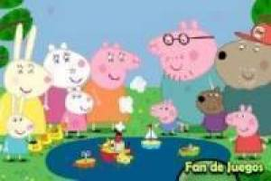 Peppa Pig looking hidden stars