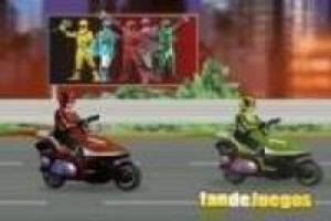 Power Rangers: Moto Race