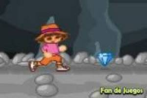 Dora the explorer escapes from the cave