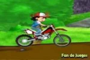 Pokemon: dirt bike
