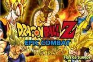 Dragon ball z épico combate
