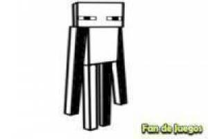 Minecraft pintar Enderman