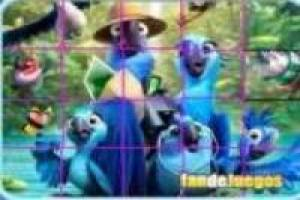 Rio 2, movie puzzle