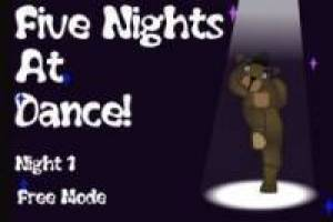 Free Five Night Just Dance Game