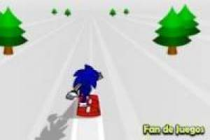 Sonic snowboard Ver. 2