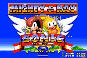 Mighty & Ray In Sonic 2