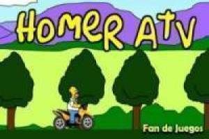 Free Atv homer simpson Game