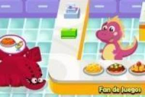 Free Restaurant dinosaur Game