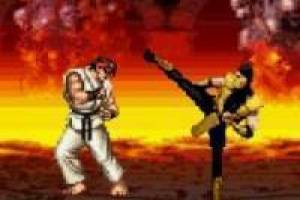 Mortal Kombat vs Street Fighter: Rio vs Scorpion