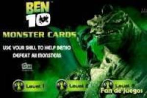 Ben 10: Monsters cards
