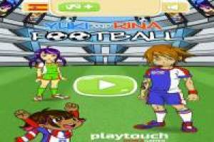 Yuki and Rina Football: Multiplayer