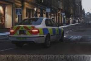 Police persecutions style GTA V