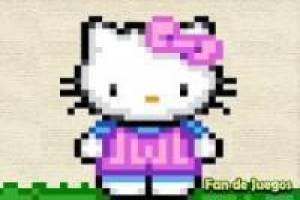 Juego Punto de cruz hello kitty Gratis