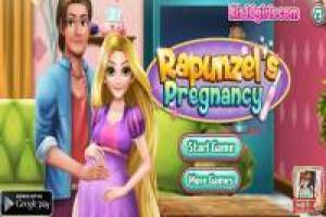 Rapunzel Pregnant: Give birth to your baby