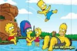 Simpsons: Family puzzel