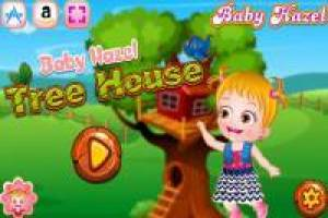Baby Hazel: Have fun at your tree house