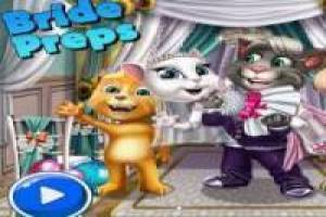Talking Tom: Preparativos de Boda