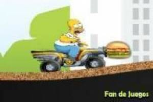 Homer simpsons hambriento