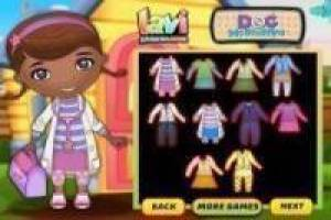Dress up doc mcstuffins