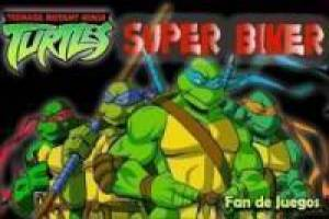 Ազատ Ninja Turtles: Super bikes Խաղալ