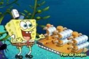SpongeBob in search of the lost ships