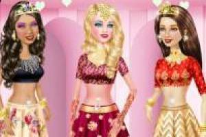 Barbie and her friends in Bollywood