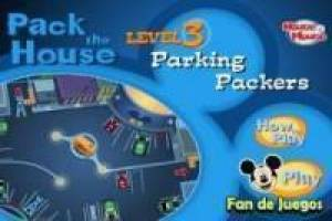 Juego Parking disney Gratis