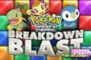 Pokemon decompõe os blocos