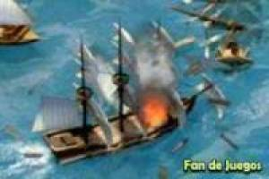 3d battle boat, pirates
