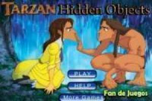 Tarzan: find hidden objects