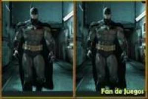 Batman, six diferncias