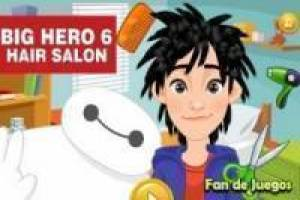 Big hero 6: hiro at the hairdresser