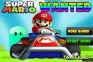 Super Mario wanted
