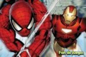 Spiderman y Iron Man: Salvar la ciudad