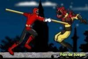 Power ranger vs monstruos de la casa