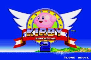 Kirby em Sonic the Hedgehog
