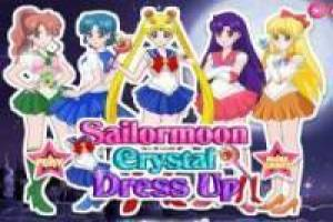 Klæd Sailor Moon Crystal