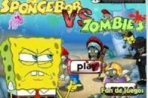 Spongebob vs zombie