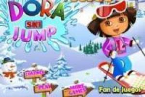 Dora the Explorer: ski jumps